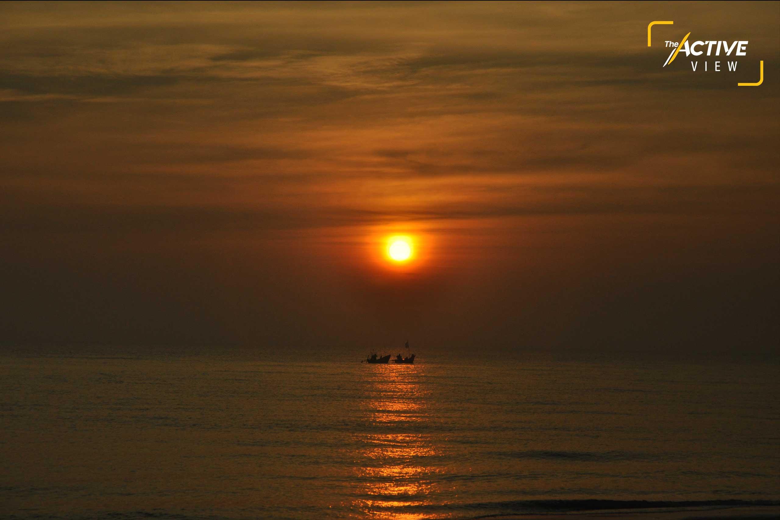 แสงแรกของพระอาทิตย์ พร้อมกับชีวิตผู้คน... เริ่มต้นที่เดิมในวันใหม่